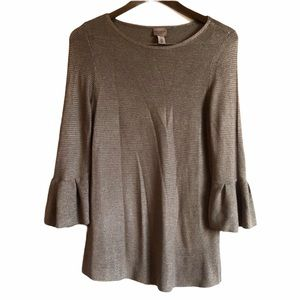 *FINALSALE* CHICOS EASYWEAR Soft Bell Sleeve Shirt